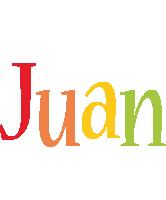Juan birthday logo