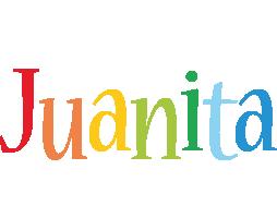 Juanita birthday logo