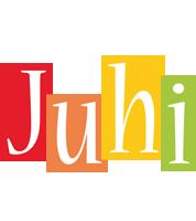 Juhi colors logo