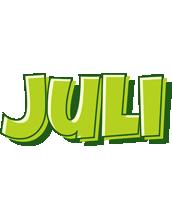 Juli summer logo