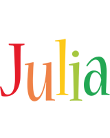 Julia birthday logo