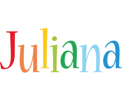 Juliana birthday logo
