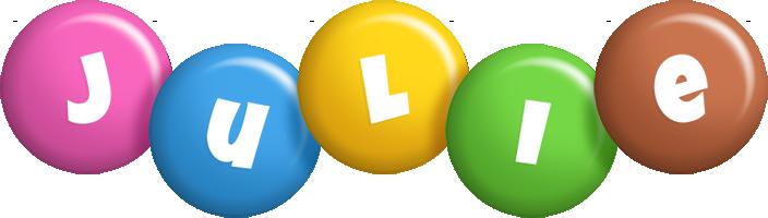 Julie candy logo