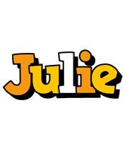 Julie cartoon logo