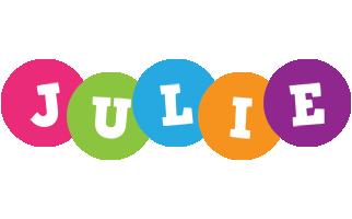 Julie friends logo
