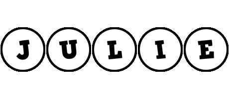 Julie handy logo