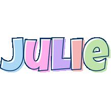 Julie pastel logo