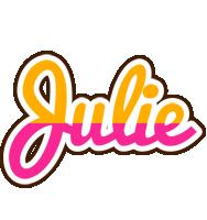 Julie smoothie logo