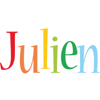 Julien birthday logo