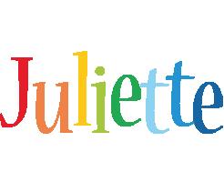 Juliette birthday logo