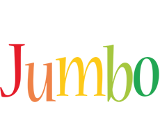 Jumbo birthday logo