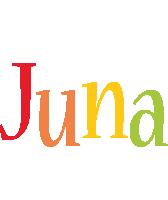 Juna birthday logo