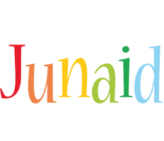 Junaid birthday logo