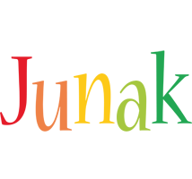 Junak birthday logo