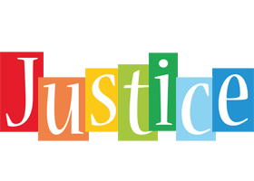 Justice colors logo
