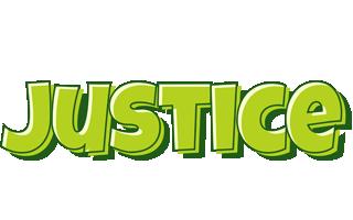 Justice summer logo