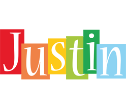 justin logo name logo generator smoothie summer