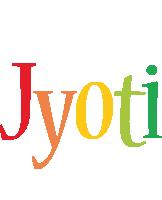 Jyoti birthday logo