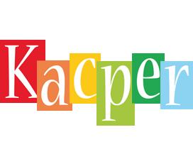 Kacper colors logo
