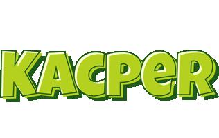 Kacper summer logo