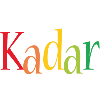 Kadar birthday logo