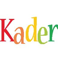 Kader birthday logo