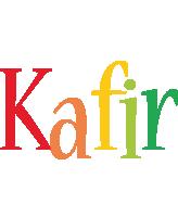 Kafir birthday logo