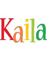 Kaila birthday logo