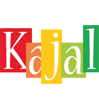 Kajal colors logo