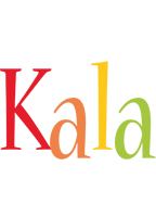 Kala birthday logo