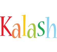Kalash birthday logo