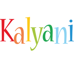 Kalyani birthday logo