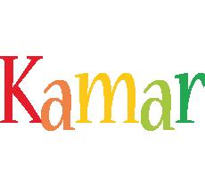 Kamar birthday logo