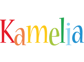 Kamelia birthday logo