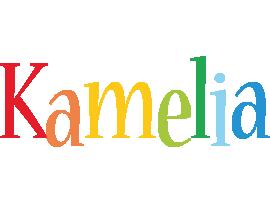 Kamelia birthday logo