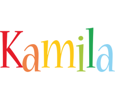 Kamila birthday logo