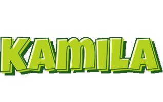 Kamila summer logo
