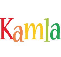 Kamla birthday logo