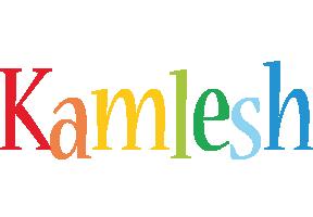 Kamlesh birthday logo