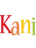 Kani birthday logo