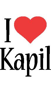 Kapil i-love logo