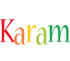 Karam birthday logo