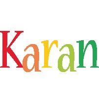 Karan birthday logo