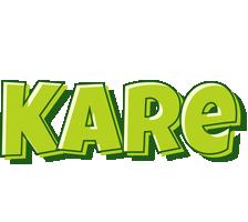 Kare summer logo