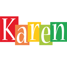 Karen colors logo