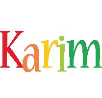 Karim birthday logo