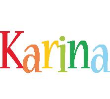 Karina birthday logo