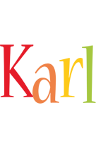 Karl birthday logo