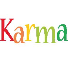 Karma birthday logo