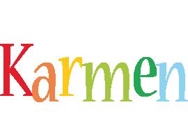 Karmen birthday logo